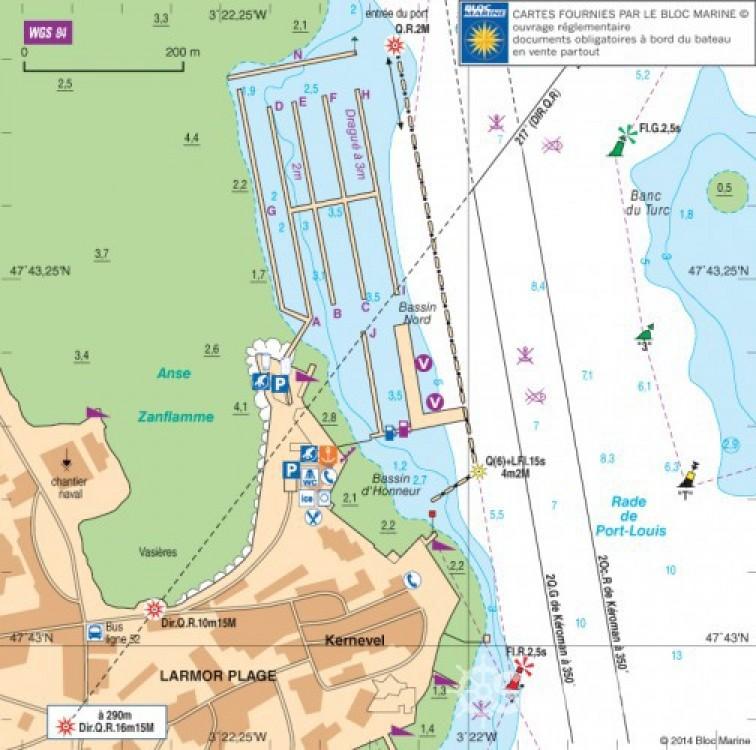 Rental yacht Lorient - Ocqueteau 500 on SamBoat