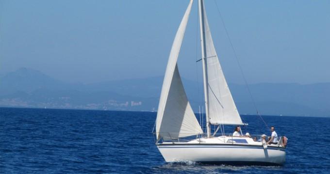 Boat rental Bormes-les-Mimosas cheap Aloa 25
