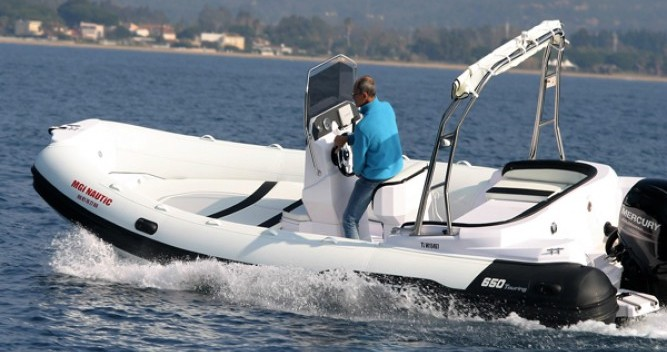 Hire RIB with or without skipper Italboats Hyères