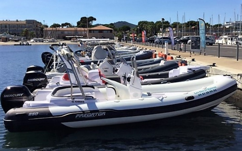 Rental RIB Italboats with a permit