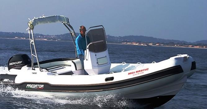Boat rental Hyères cheap Predator 650