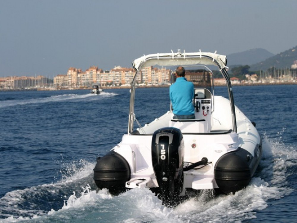 Italboats Predator 650 between personal and professional Hyères