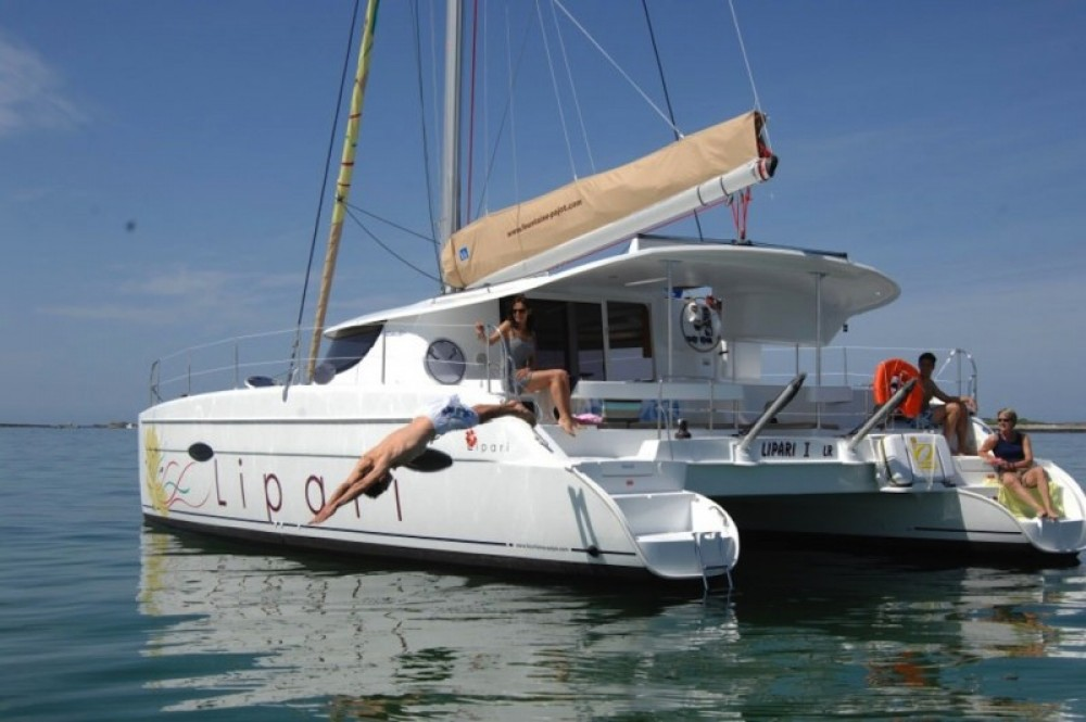 Fountaine Pajot Lipari 41 between personal and professional Marseille