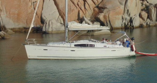 Bénéteau Oceanis 43 between personal and professional Ajaccio