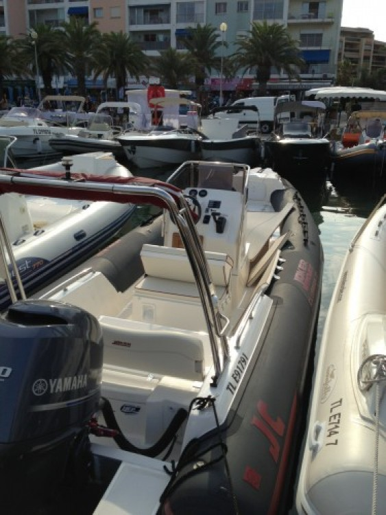 Joker Boat Clubman 22 between personal and professional Hyères