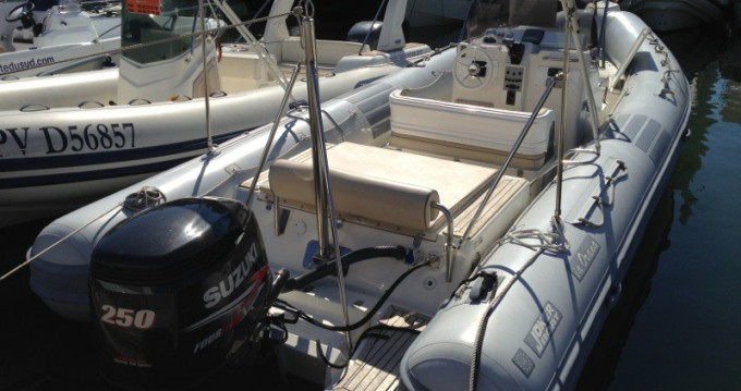 Joker Boat Clubman 24 between personal and professional Hyères