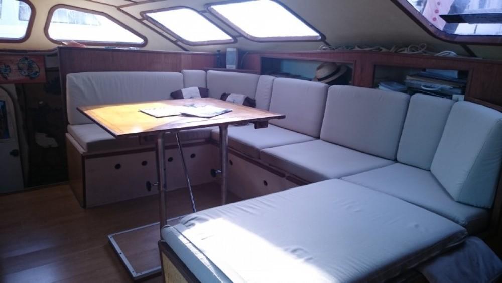 Boat rental Martinique cheap plan carof lazzy 54