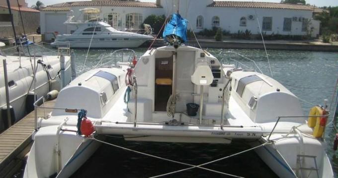 Rental Catamaran Edel with a permit