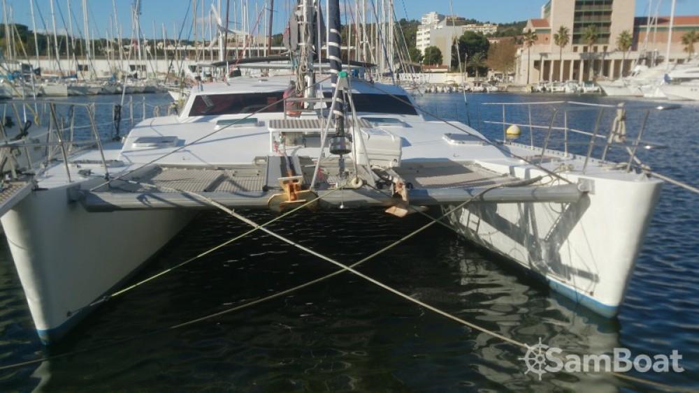 Boat rental Chantier-Du-Lez plan carof lazzy 54 in Martinique on Samboat