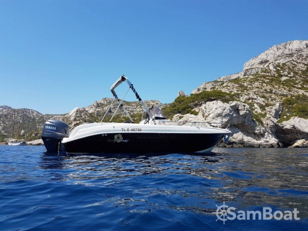 Hire Motor boat with or without skipper Pacific Craft Marseille