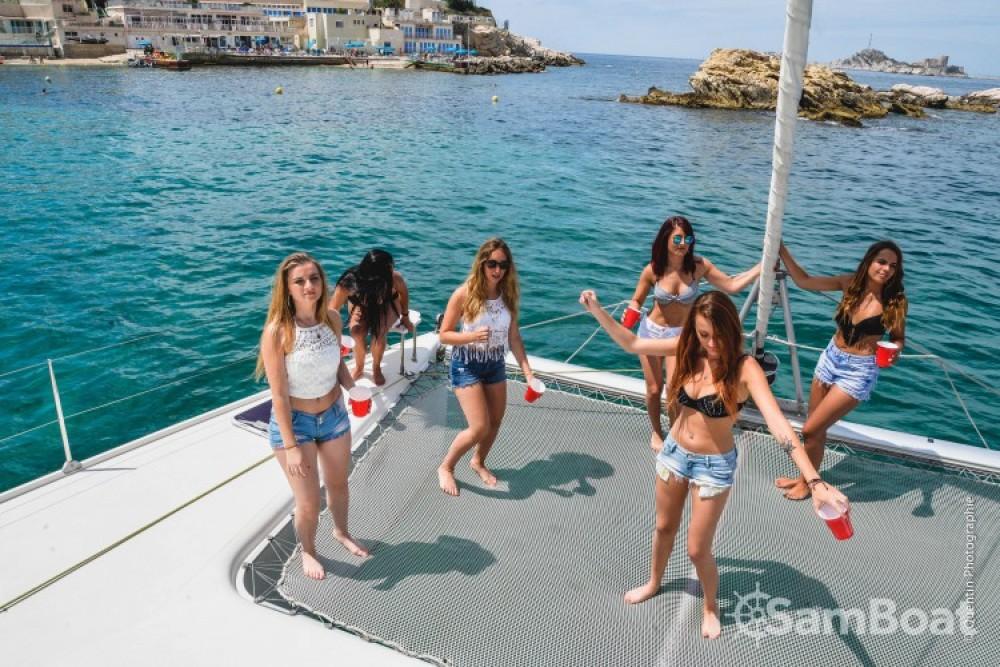 Boat rental Marseille cheap Bahia 46