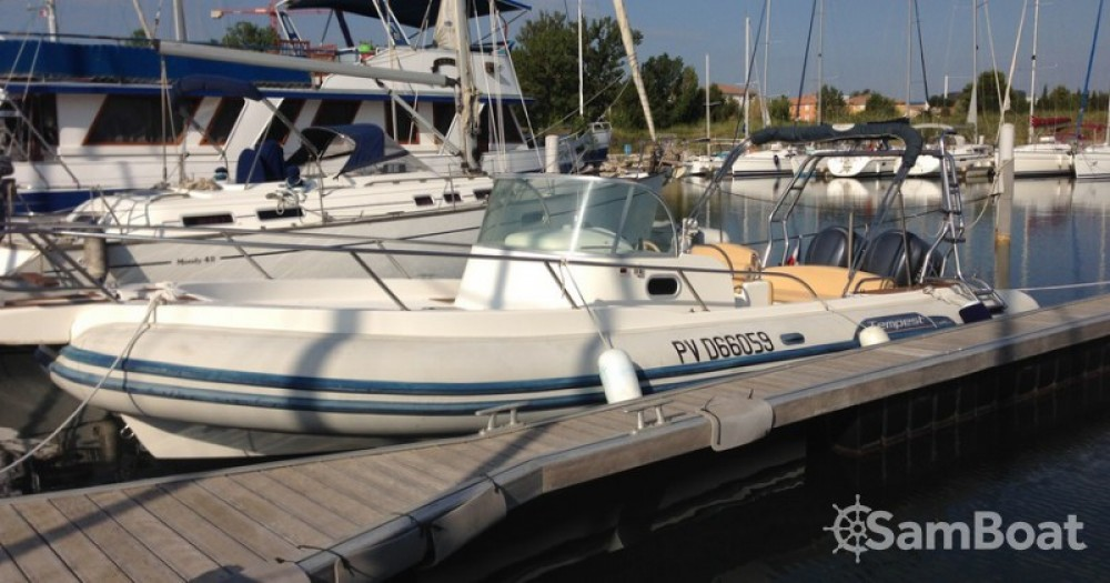 Boat rental Capelli Tempest 900 in Canet-Plage on Samboat