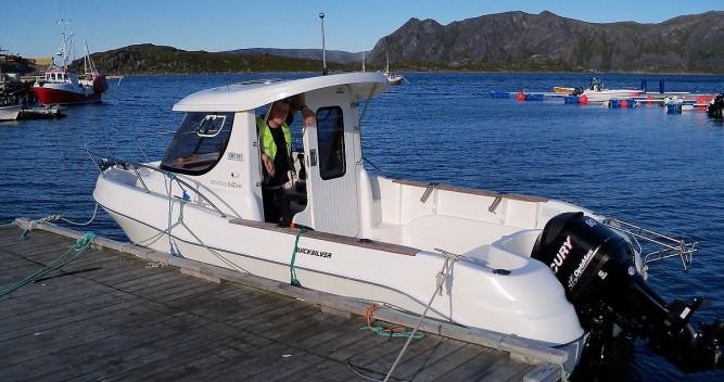 Boat rental Lorient cheap Quicksilver 640 Pilothouse