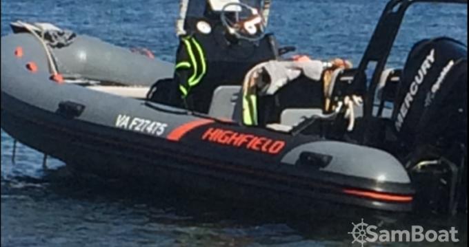 Boat rental Saint-Malo cheap Ocean Master 540
