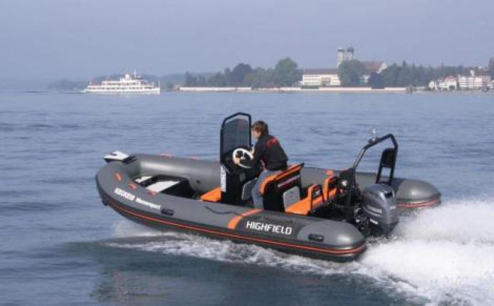 Boat rental Highfield Ocean Master 540 in Saint-Malo on Samboat