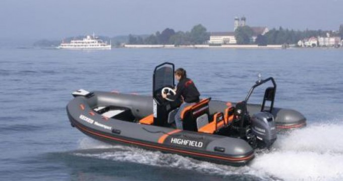 Hire RIB with or without skipper Highfield Saint-Malo