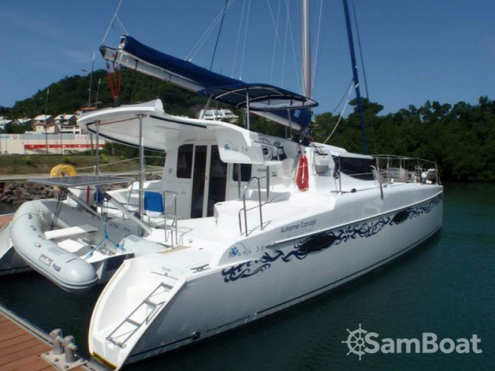 Boat rental Fountaine Pajot Mahe 36 Evolution in Martinique on Samboat