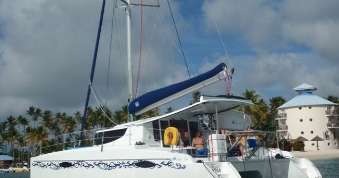 Boat rental Le Marin cheap Mahe 36 Evolution