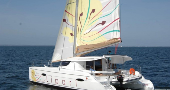 Fountaine Pajot Lipari 41 between personal and professional Le Marin