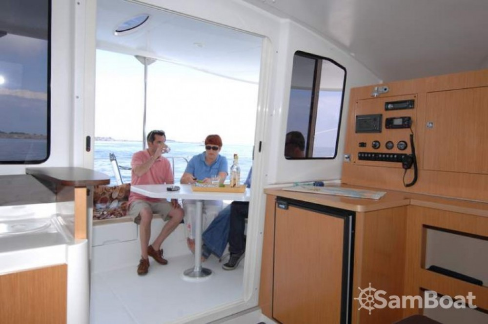 Fountaine Pajot Mahe 36 Evolution between personal and professional Martinique