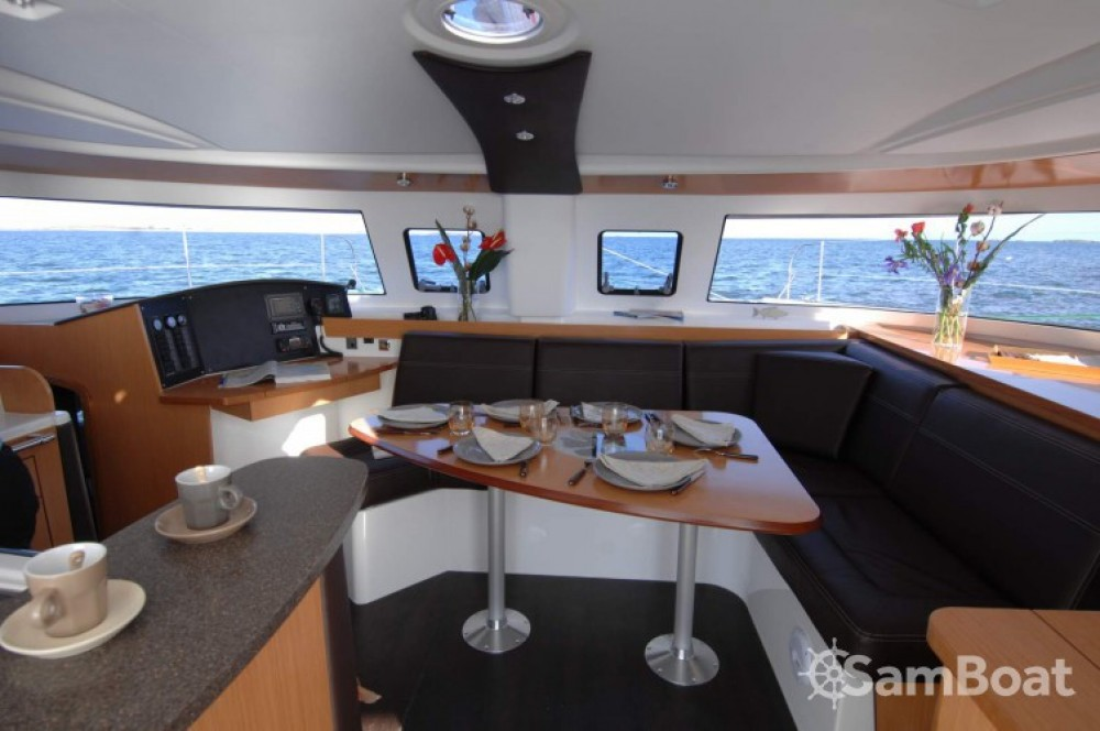 Fountaine Pajot Lipari 41 between personal and professional Martinique