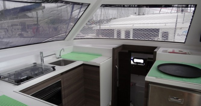 Nautitech Open 40 between personal and professional Le Marin