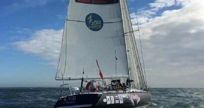 Rental Sailboat in La Rochelle - Mauric-Pouvreau KVIII