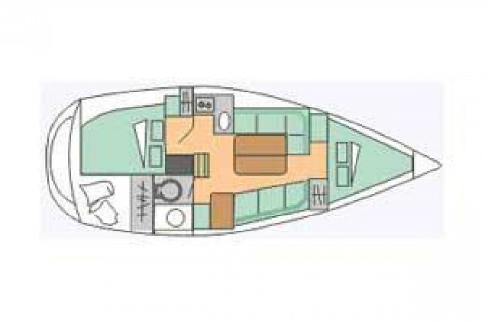 Sailboat for rent Flamanville at the best price