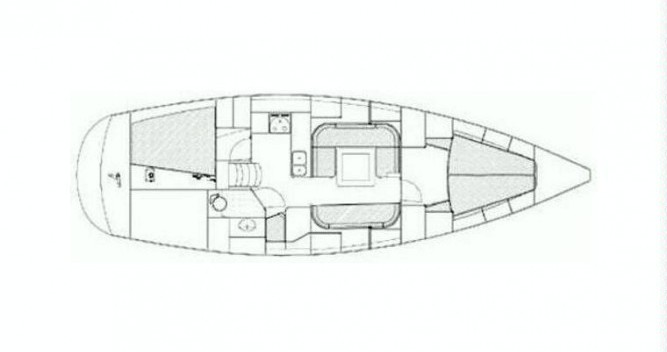Rental Sailboat Jumbo with a permit