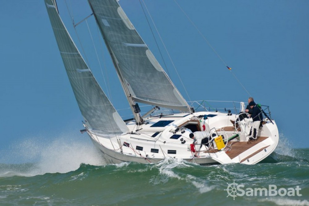 Bavaria Sport 40 between personal and professional Flamanville