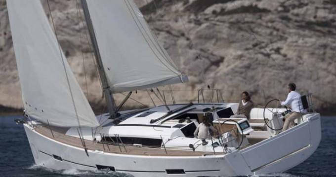 Boat rental Siouville-Hague cheap Dufour 410