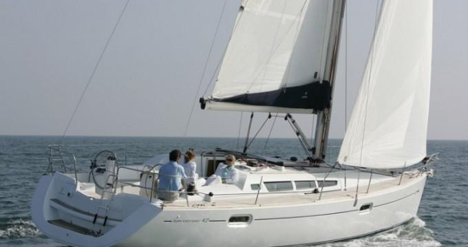 Boat rental Le Marin cheap Sun Odyssey 42i