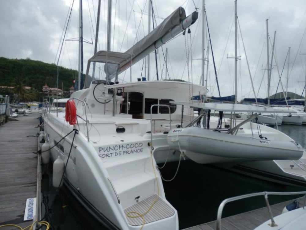 Boat rental Nautitech Nautitech 441 in Martinique on Samboat