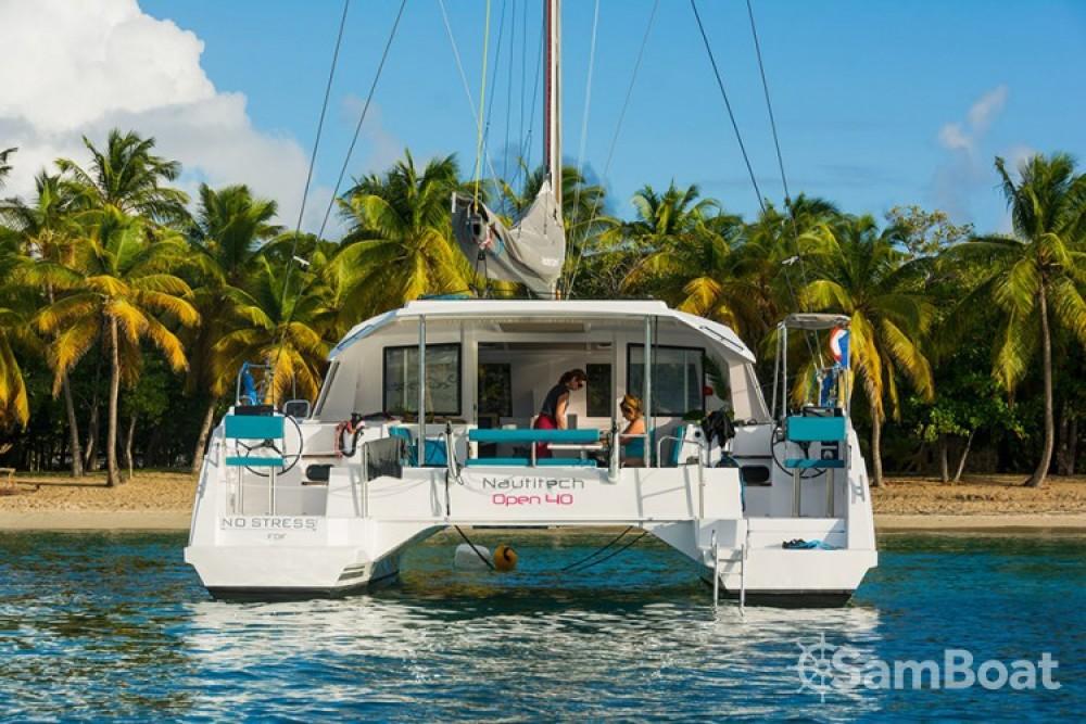 Boat rental Martinique cheap Nautitech Open 40