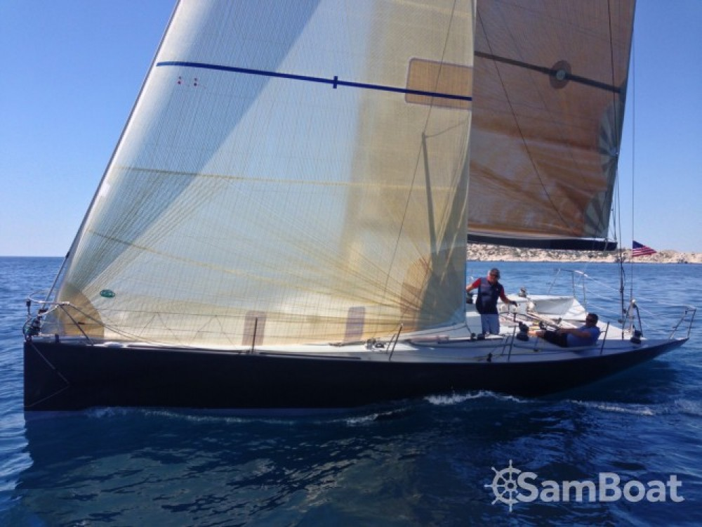 Jeanneau JTA 40 between personal and professional Marseille