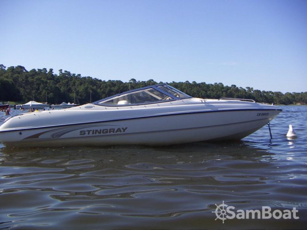 Rental Motor boat in Lacanau - Stingray ls 185