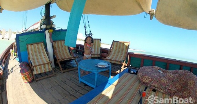 Hire Sailboat with or without skipper Unique Toliara