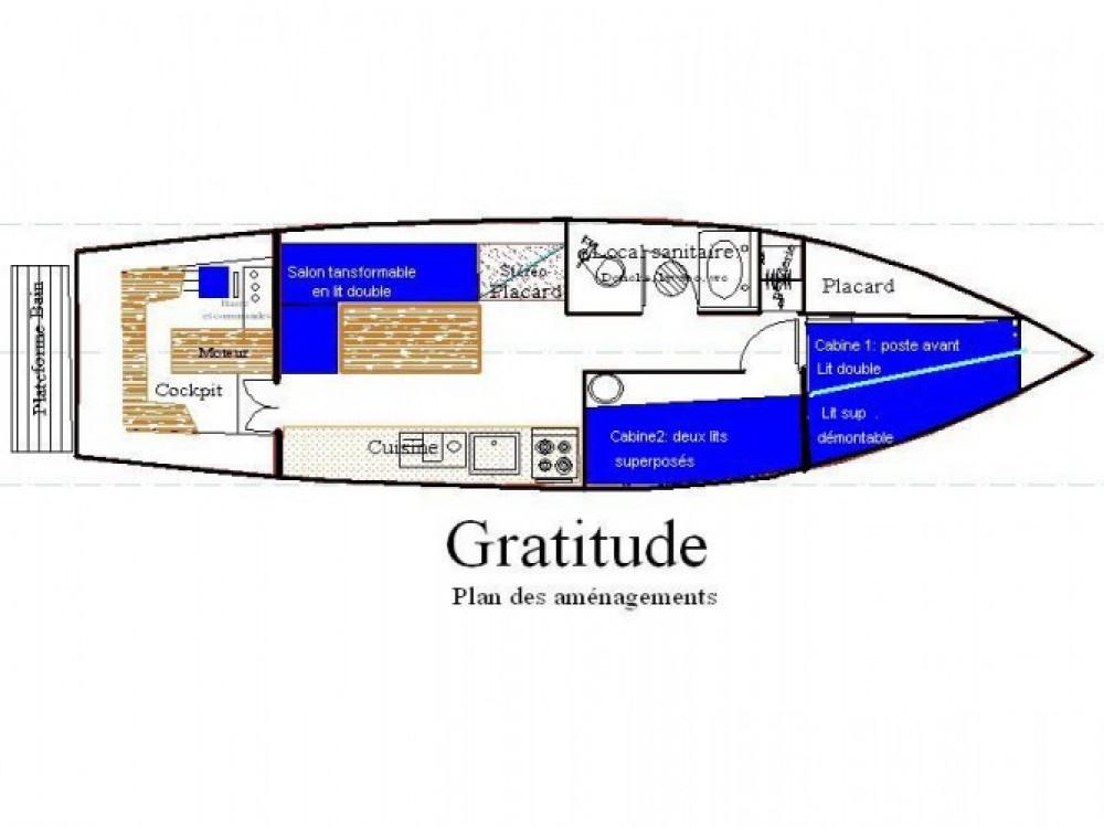 Rental yacht Nantes - Fox-And-Sons gentleman launch on SamBoat