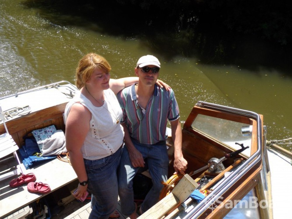 Rental Canal boat in Nantes - Fox-And-Sons gentleman launch