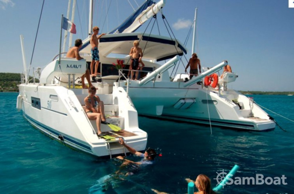 Catana Catana 50 Ocean Class between personal and professional Marigot