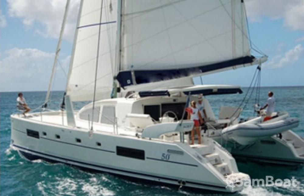 Catamaran for rent Marigot at the best price