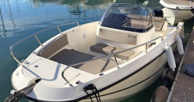 Rental yacht Saint-Malo - Quicksilver Activ 755 Open on SamBoat