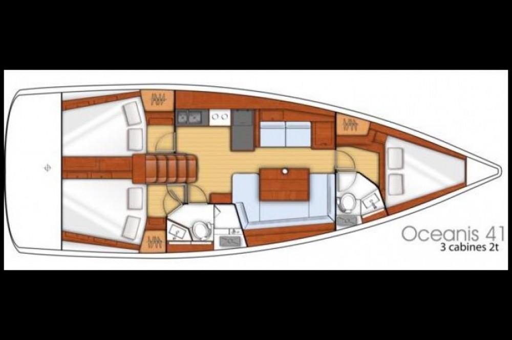 Rental Sailboat in Toulon - Bénéteau Oceanis 41
