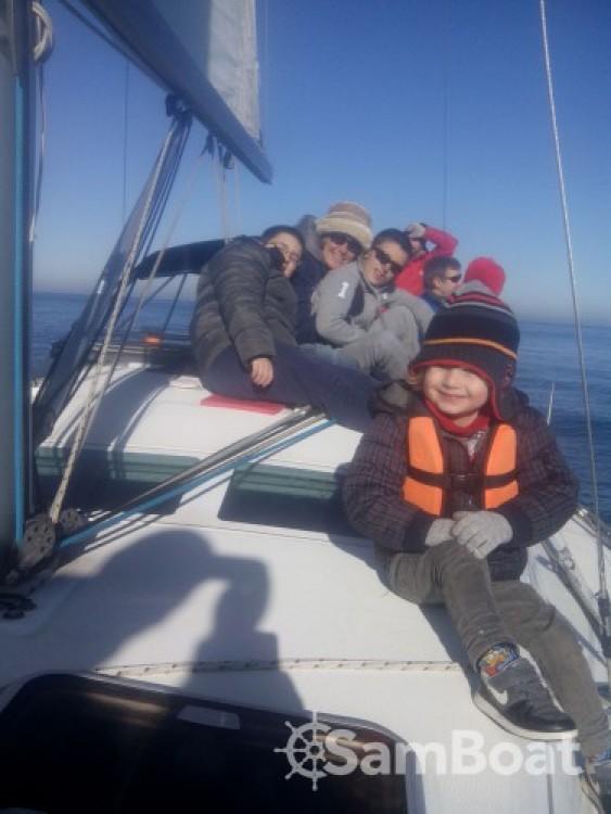 Boat rental Fontarrabie cheap Oceanis 373