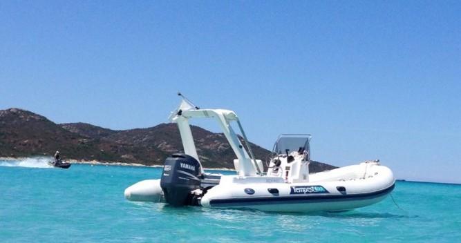 Rental yacht L'Île-Rousse - Capelli Tempest 625 on SamBoat