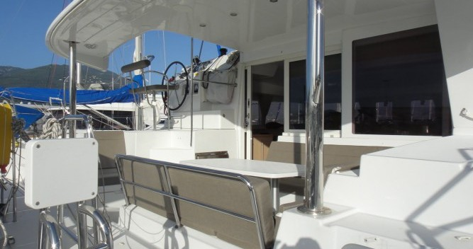 Hire Catamaran with or without skipper Lagoon Propriano