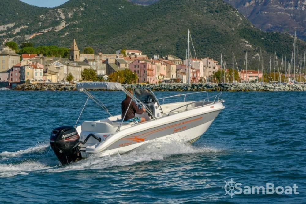 Rental Motor boat in Saint-Florent - Salmeri Syros 190
