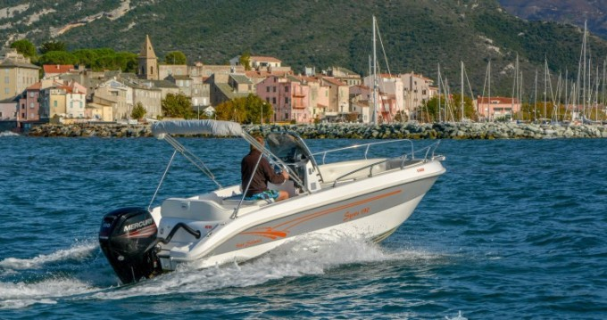 Rental Motorboat in Saint-Florent - Salmeri Syros 190