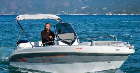 Salmeri Syros 190 between personal and professional Saint-Florent