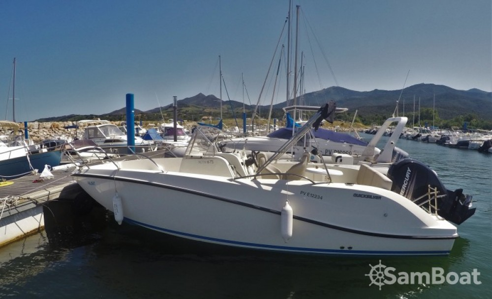 Rental yacht Argelès-sur-Mer - Quicksilver Activ 675 Open on SamBoat